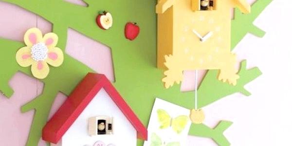 10 Оригінальних настінних годинників для дитячої (ФОТО)
