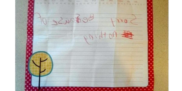 30 Самих чесних і забавних записок від дітей (ФОТО)