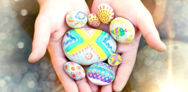 5 Ігор з морськими камінчиками