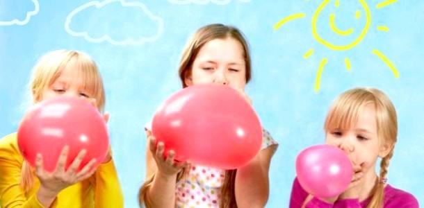 5 Веселих ігор з повітряними кульками