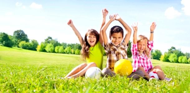 5 Веселих естафет для великої дитячої компанії