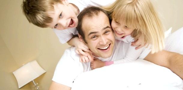 5 Речей, які тато може зробити, щоб діти виросли здоровими фото