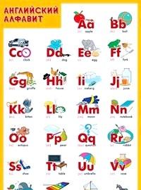Алфавіт англійською для дітей фото