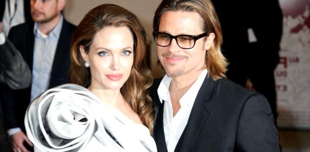 Анджеліна Джолі і Бред Пітт одружилися в замку