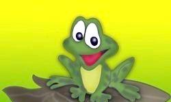 Англійські вірші для дітей про тварин. Жаба. Poems about frogs