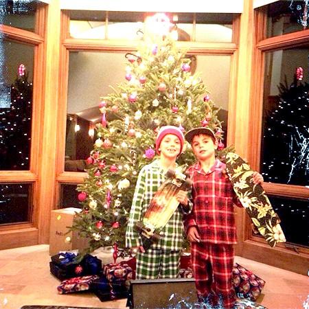 Брітні Спірс розповіла про новорічні подарунки для синів