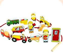 Дерев'яні іграшки для дітей на будь-який смак