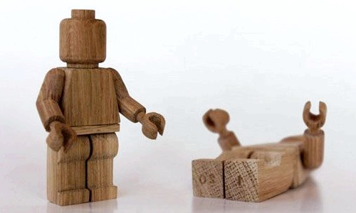 Дерев'яні іграшки LEGO ручної роботи (ФОТО) фото