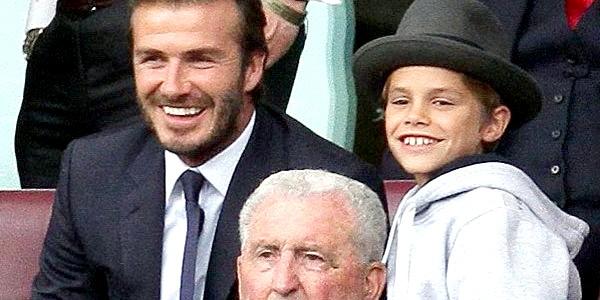 Дітей Бреда Пітта грати у футбол навчить Девід Бекхем