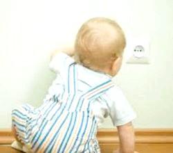 Діти та електрику - безпека в домі
