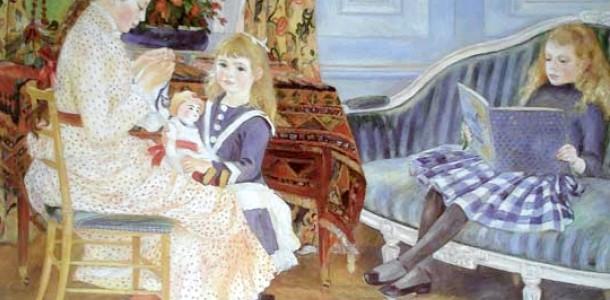 Діти на картинах відомих майстрів (ФОТО)