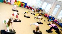 Дитяча аеробіка для дошкільнят