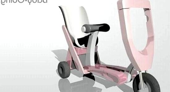Дитяча коляска-скутер (ФОТО) фото