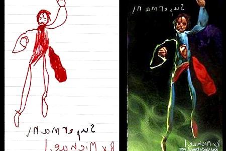 Дитячі малюнки очима художника (ФОТО)