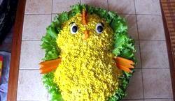 Дитячі салати на день народження фото