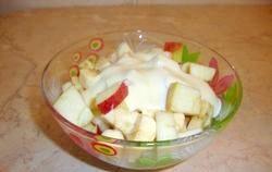 Дитячий фруктовий салат фото