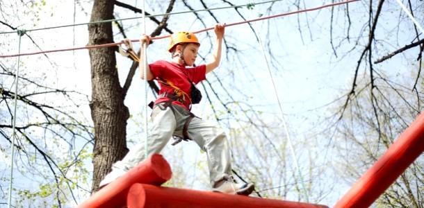 Дитячий Київ: мотузкові парки-лазанки