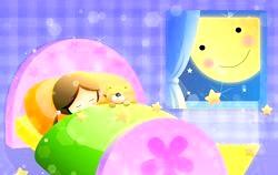Дитячий сон. Як вкласти спати? фото