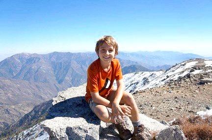 Дев'ятирічний скелелаз підкорив найвищу гору Америки
