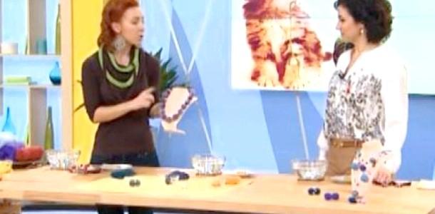 DIY: робимо прикраси методом валяння (відео)