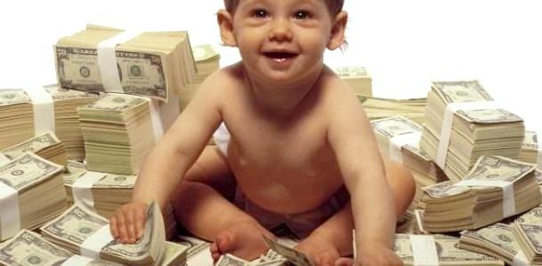 Дворічний малюк виграв в лотерею 1 млн доларів фото