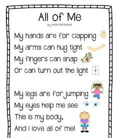 English topic - All about me