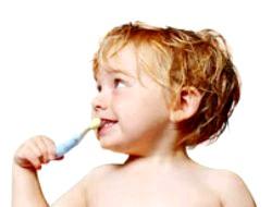 Якщо у дитини з'явився карієс?