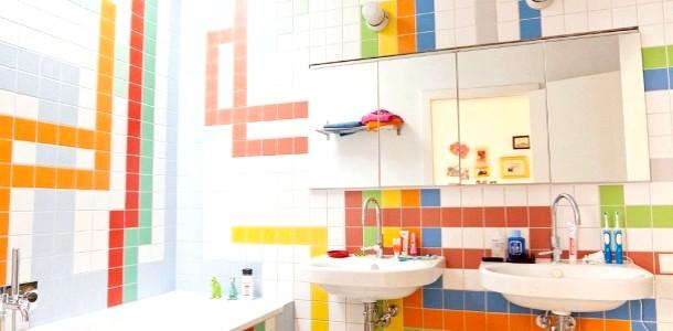 Є ідея! Яскравий дизайн ванної кімнати (ФОТО)