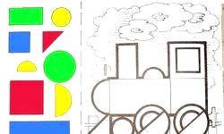 Геометрична Аплікація. Кращі Ідеї та фото