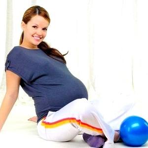 Гімнастика в 3 триместрі вагітності фото