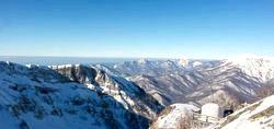 Гірськолижний курорт в Сочі