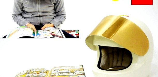 Хочу таке: шолом для аудіокоміксов (ФОТО)