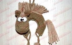 Іграшки гачком в техніці амигуруми. Конячка. Майстер-клас з покроковий фото фото