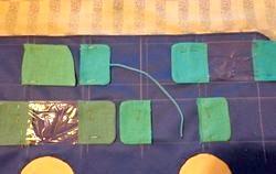 Іграшки своїми руками. МК з виготовлення панно «Автобус-застібки». фото