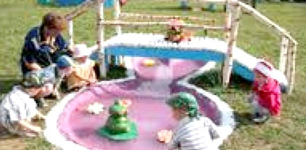 Ігри дітей у дворі