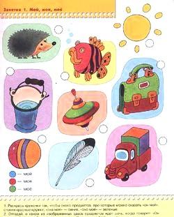 Ігри з дитиною від 2 років. Розвиток мови