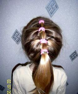 Як робити дитячі зачіски