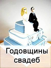 Як називаються всі річниці весіль