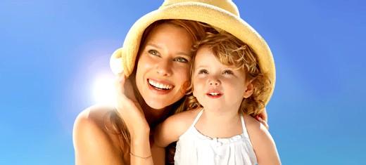Як подружити дитину і сонце