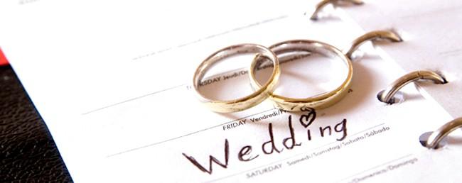 Як правильно вибрати день і місяць весілля фото