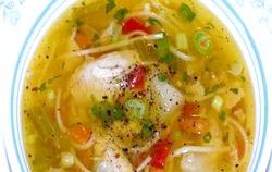 Як приготувати курячий суп
