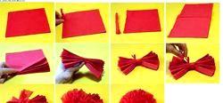 Як зробити квіти з паперу