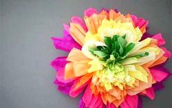 Як зробити гофровані квіти. Фото та Ідеї