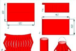 Як зробити з паперу ліхтарик