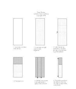 Як зробити з паперу меч фото