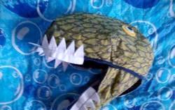 Як зробити маску динозавра? фото