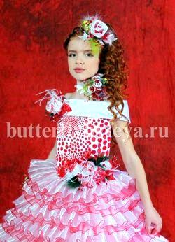 Як прікрасіті дитячі сукні?