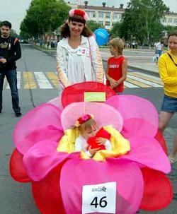 Як прікрасіті коляску?