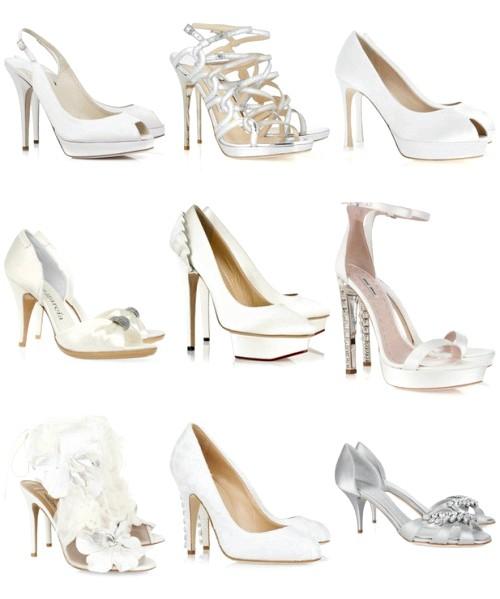 як вибрати весільні туфлі для нареченої