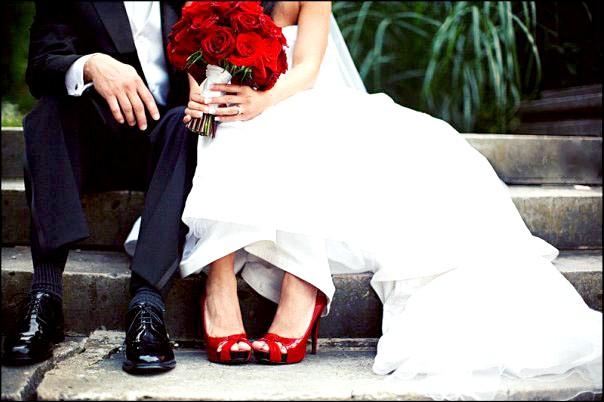вибираємо весільне взуття
